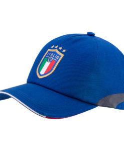 PUMA イタリア 2018 トレーニング キャップ Blue