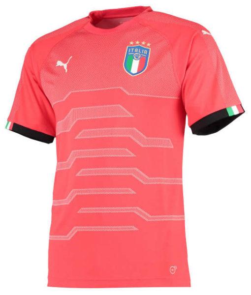 PUMA イタリア 2018 ゴールキーパー シャツ B 1