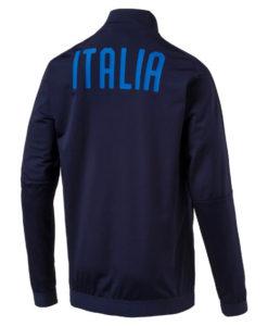 PUMA イタリア 2018 スタジアム ジャケット Navy