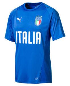 PUMA イタリア 2018 トレーニング ジャージー Blue