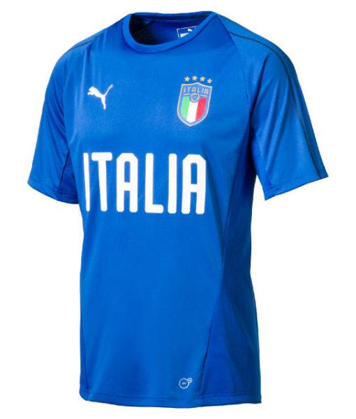 PUMA イタリア 2018 トレーニング ジャージー Blue 1