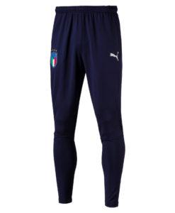 PUMA イタリア 2018 トレーニング パンツ Navy