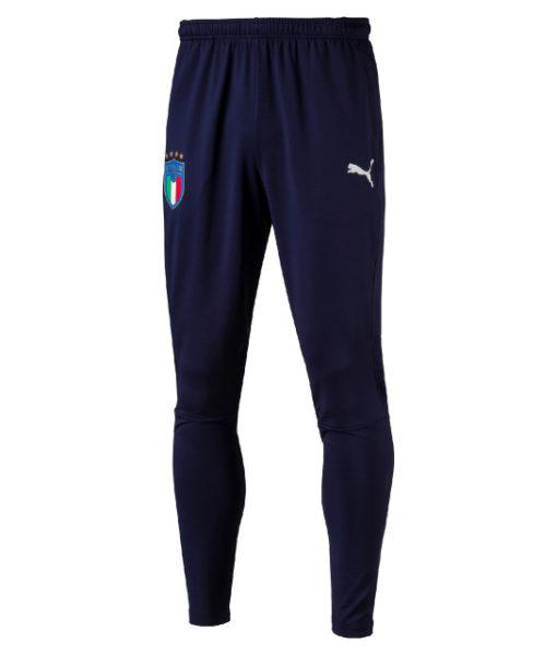 PUMA イタリア 2018 トレーニング パンツ Navy 1