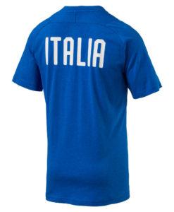 PUMA イタリア 2018 カジュアル Tシャツ Blue