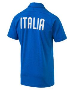 PUMA イタリア 2018 カジュアル ポロシャツ Blue