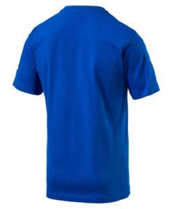 PUMA イタリア 2018 エンブレム Tシャツ Blue