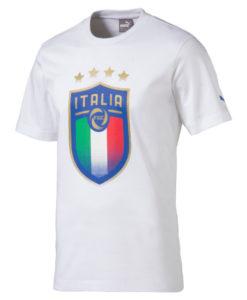 PUMA イタリア 2018 エンブレム Tシャツ White