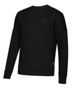 adidas LAギャラクシー 2018 クルー スウェットトップ Black