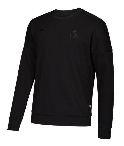 adidas LAギャラクシー 2018 クルー スウェットトップ Black 1