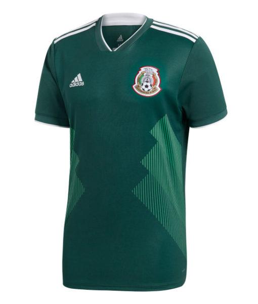 adidas メキシコ 2018 ホーム シャツ  1
