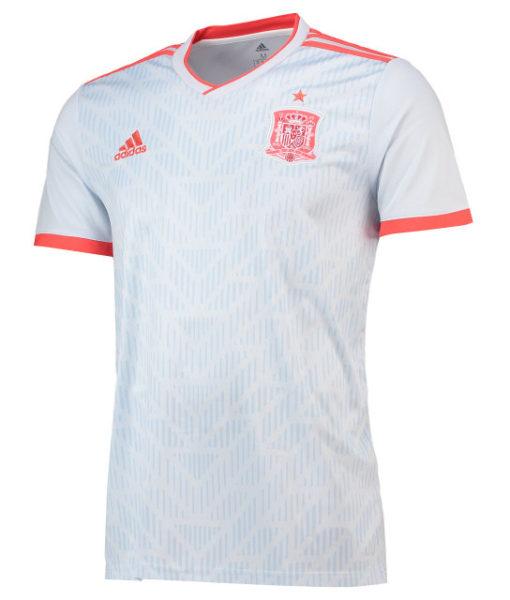 adidas スペイン 2018 アウェイ シャツ  1