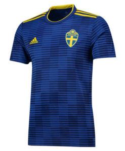 adidas スウェーデン 2018 アウェイ シャツ