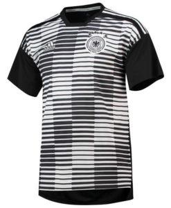 adidas ドイツ 2018 ホーム プレマッチ シャツ White