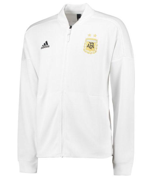 adidas アルゼンチン 2018 ZNE アンセム ジャケット White 1