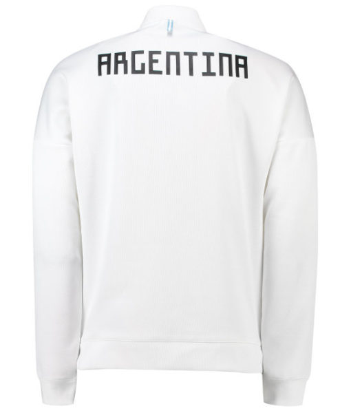 adidas アルゼンチン 2018 ZNE アンセム ジャケット White
