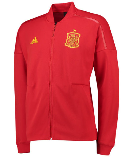 adidas スペイン 2018 ZNE アンセム ジャケット Red 1