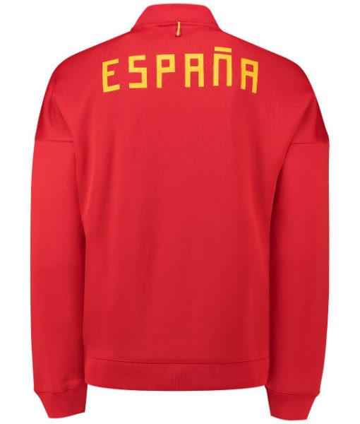adidas スペイン 2018 ZNE アンセム ジャケット Red