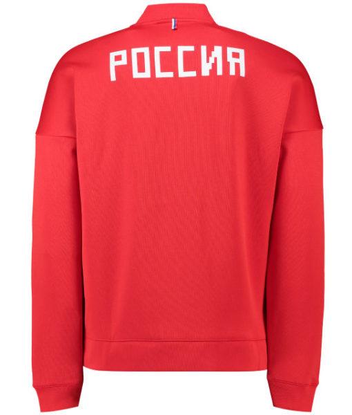 adidas ロシア 2018 ZNE アンセム ジャケット Red