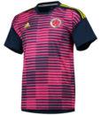 adidas コロンビア 2018 ホーム プレマッチ シャツ Pink