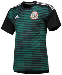 adidas メキシコ 2018 ホーム プレマッチ シャツ Green