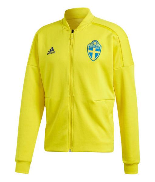 adidas スウェーデン 2018 ZNE アンセム ジャケット Yellow 1