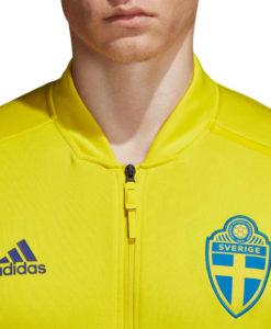 adidas スウェーデン 2018 ZNE アンセム ジャケット Yellow