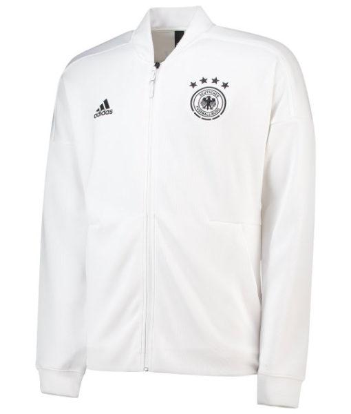 adidas ドイツ 2018 ZNE アンセム ジャケット White 1