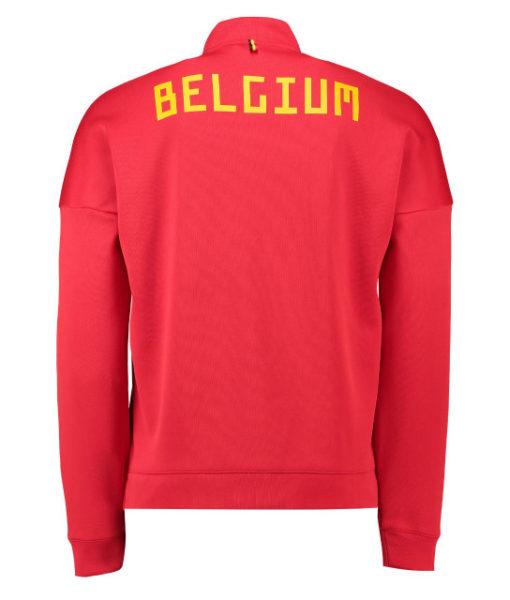 adidas ベルギー 2018 ZNE アンセム ジャケット Red