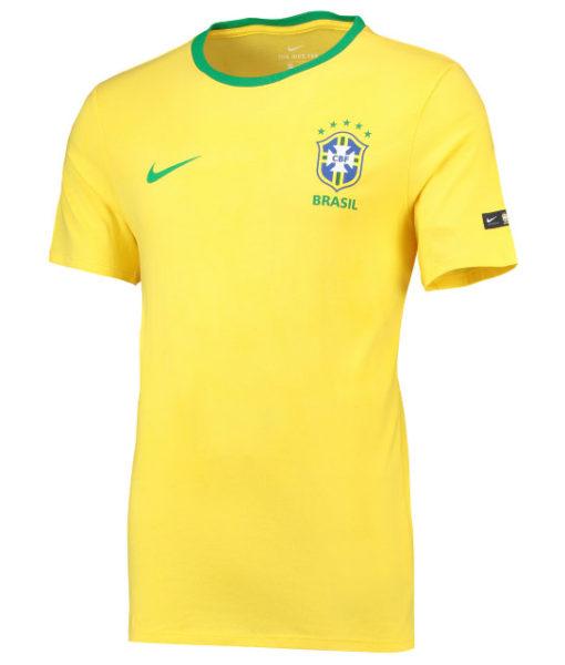 NIKE ブラジル 2018 エンブレム Tシャツ  1
