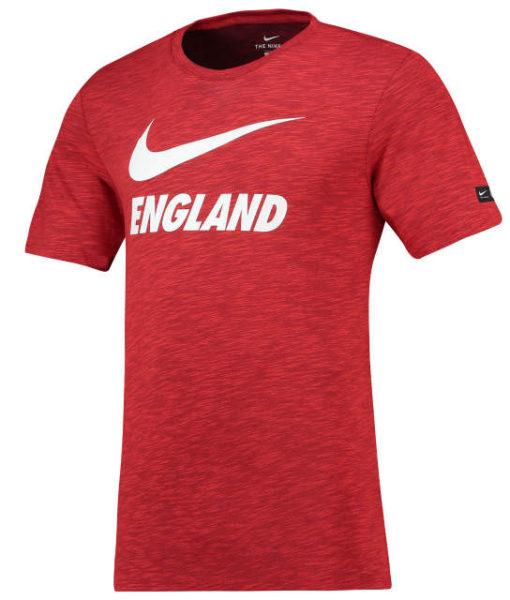 NIKE イングランド 2018 プレシーズン Tシャツ Red 1