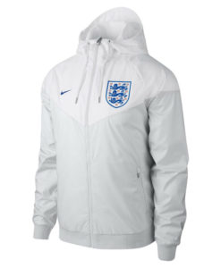 NIKE イングランド 2018 オーセンティック ウーブン ウインドランナー ジャケット White