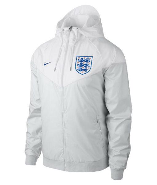 NIKE イングランド 2018 オーセンティック ウーブン ウインドランナー ジャケット White 1
