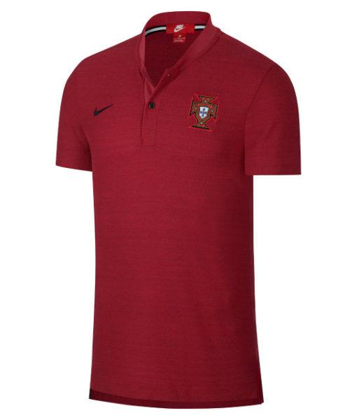 NIKE ポルトガル 2018 オーセンティック グランドスラム ポロシャツ Red 1