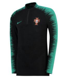 NIKE ポルトガル 2018 Strike ヴェイパーニット ドリル トップ Black
