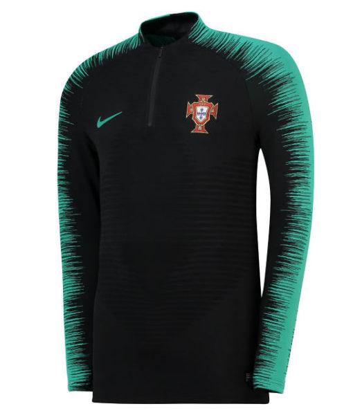 NIKE ポルトガル 2018 Strike ヴェイパーニット ドリル トップ Black 1