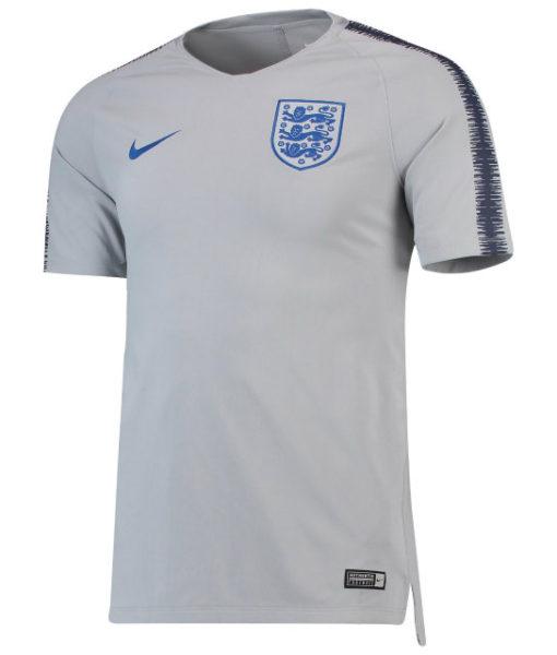 NIKE イングランド 2018 Squad トレーニング トップ Grey 1
