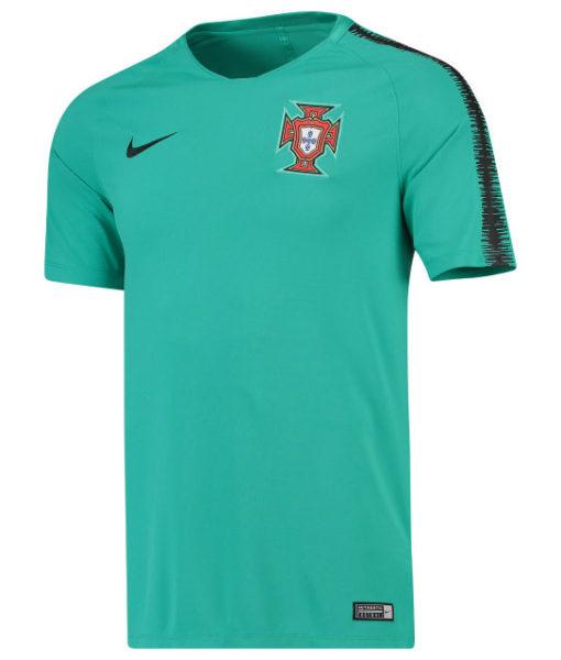 NIKE ポルトガル 2018 Squad トレーニング トップ Green 1