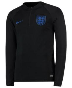NIKE イングランド 2018 Squad ドリル トップ Black