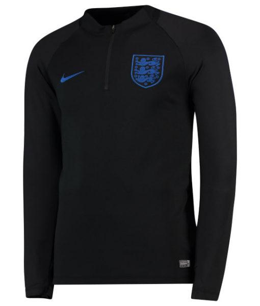NIKE イングランド 2018 Squad ドリル トップ Black 1