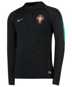NIKE ポルトガル 2018 Squad ドリル トップ Black