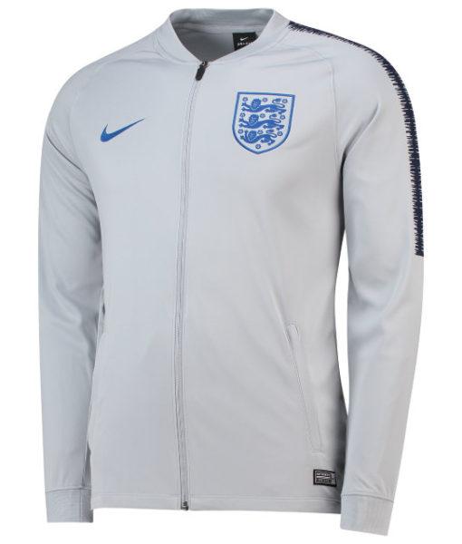 NIKE イングランド 2018 Squad トラック ジャケット Grey 1