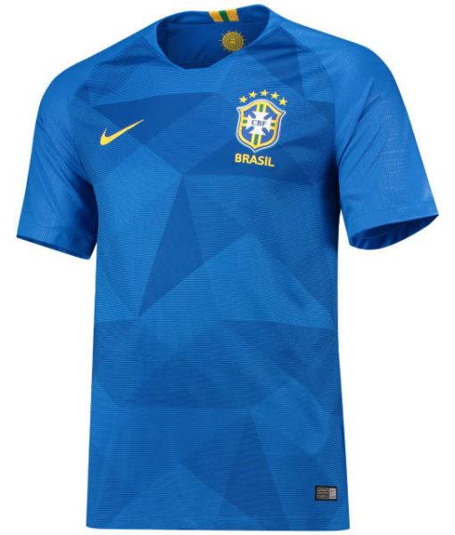 NIKE ブラジル 2018 アウェイ スタジアム シャツ  1