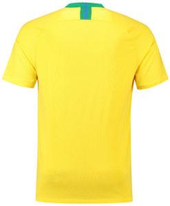 NIKE ブラジル 2018 ホーム スタジアム シャツ