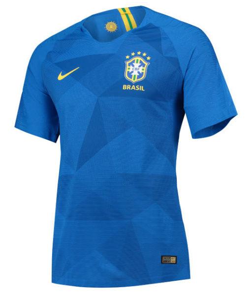 NIKE ブラジル 2018 アウェイ マッチ シャツ  1