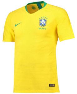 NIKE ブラジル 2018 ホーム ヴェイパーマッチ シャツ