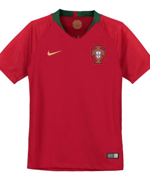 NIKE ポルトガル Kids 2018 ホーム スタジアム シャツ  1