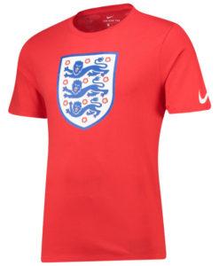 NIKE イングランド 2018 エンブレム Tシャツ Red