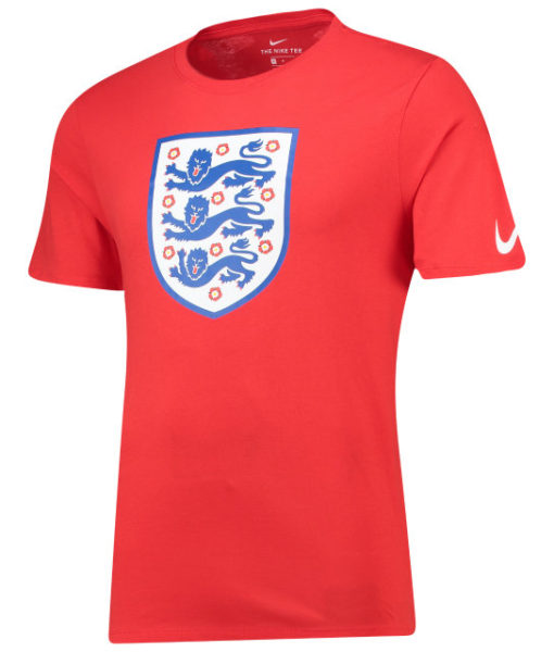 NIKE イングランド 2018 エンブレム Tシャツ Red 1