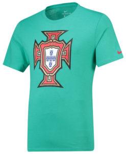 NIKE ポルトガル 2018 エンブレム Tシャツ Green