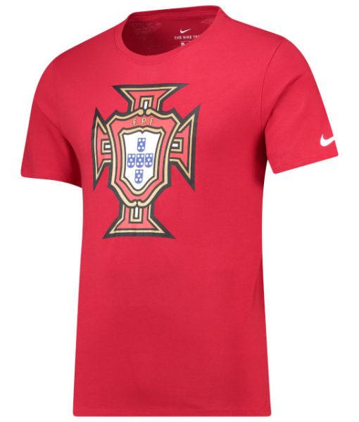 NIKE ポルトガル 2018 エンブレム Tシャツ Red 1